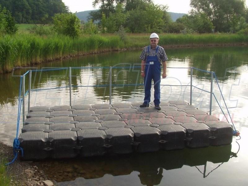 schwimmende Arbeitsplattform