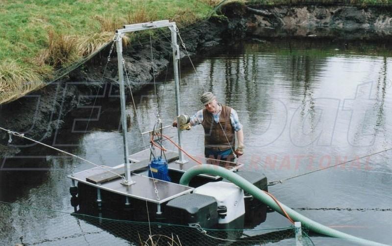 Schwimmende Arbeitsplattform gebraucht