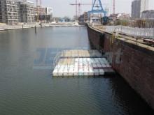 Ponton Arbeitsplattform mieten Hamburg