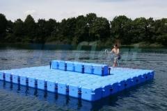 schwimminsel-ponton-see