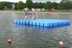Ponton Badeinsel für Spass auf Wasser