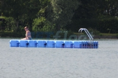 Ponton Schwimmkörper Badeplattform