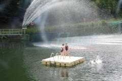 Badeplattform - Badeinsel
