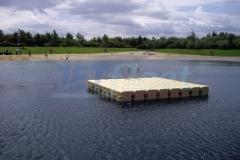 schwimmende Plattform auch für Taucher