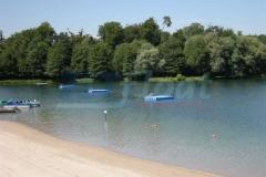 Badeinsel - Schwimminsel extrem Resistent gegen Salzwasser