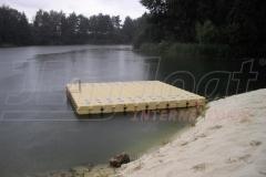 Badeinsel - Schwimminsel