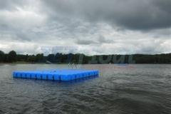 Badeinsel - Schwimminsel aus lebensmittelechtem BASF Lupolen 5261 Z Kunststoff