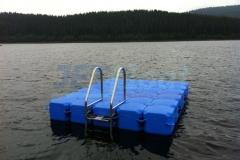 Kunststoff Insel mit Leiter