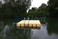 Schwimmende Plattform