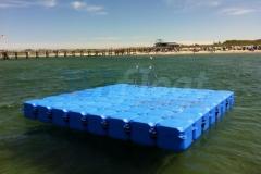 Schwimmkörper Badeinsel Plattform