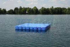 Ponton Schwimmplattform