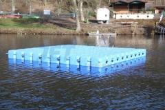 Schwimminsel bzw. schwimmende Badeinsel