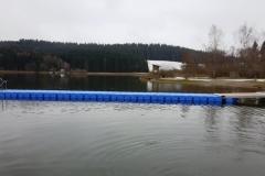 Ponton Steg am Niedersonthofener See