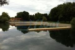Badesteg Kunststoff