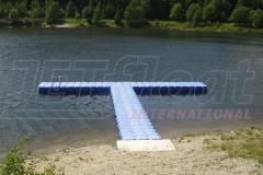 Bootssteg und Schwimmsteg in Falkenstein Vogtland