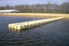 Badesteg schwimmend Ponton