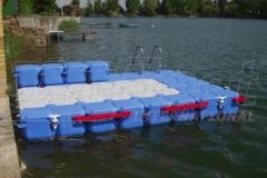 Kunststoff Ponton Badesteg