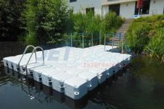 Kunststoff Ponton Schwimmsteg