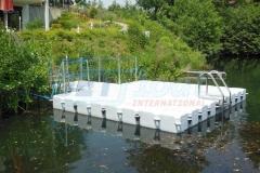 Kunststoff PE Schwimmsteg und Steg für Boote - viele Vorteile mit JETfloat