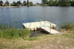 Badesteg für den privaten Gebrauch bauen lassen, wie hier in Wiesbaden