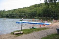 Kunststoff Schwimmsteg aus JETfloat Pontons in Frielendorf (Silbersee)
