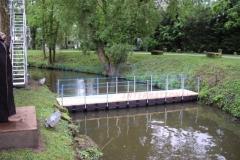 Pontonbrücken Behelfsbrücken