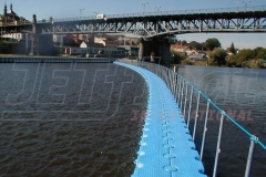 Pontonbrücken Behelfsbrücken mieten
