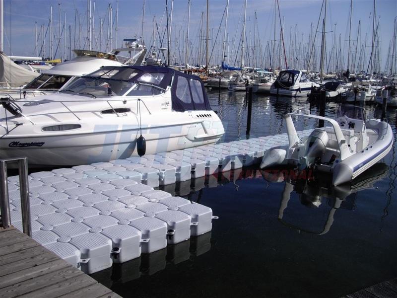 Bootssteg Schwimmkörper Bootsanleger