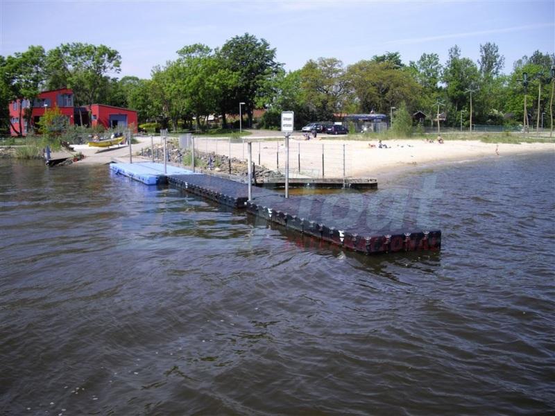 Bootsanleger bzw. Bootssteg kaufen - Stegbau