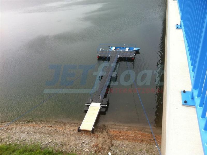 Jetfloat Bootssteg kaufen - Stegbau