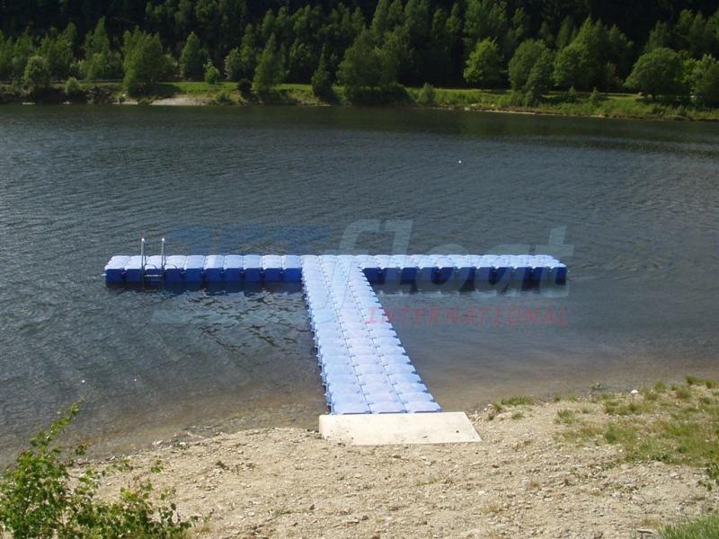 Bootssteg Ponton Schwimmkörper bauen