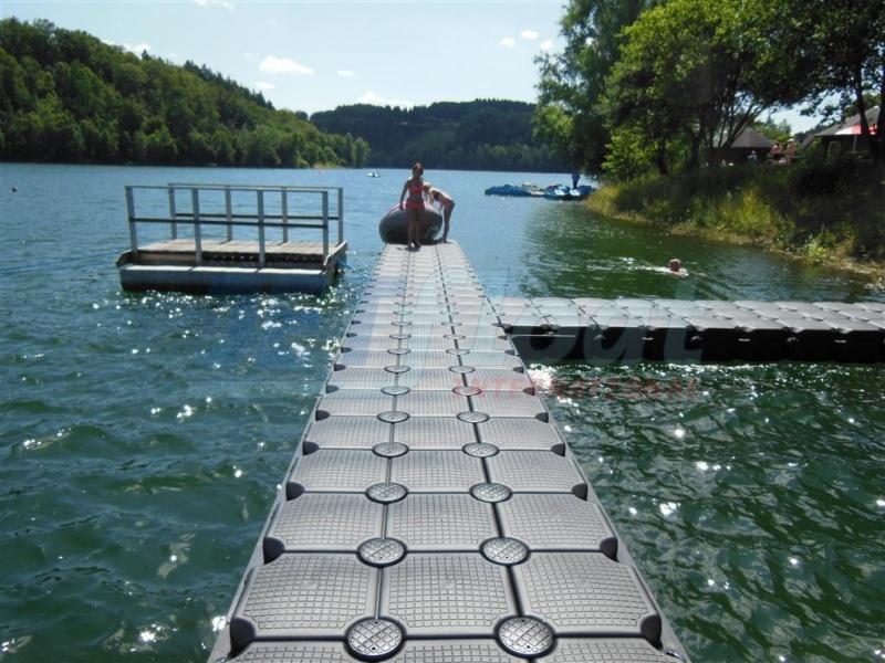 Schwimmsteg - Bootssteg Jetfloat Schwimmkörper