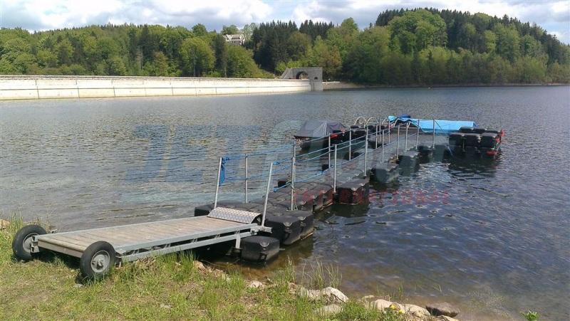 Schwimmstege - Bootsstege bauen lassen mit Duwe