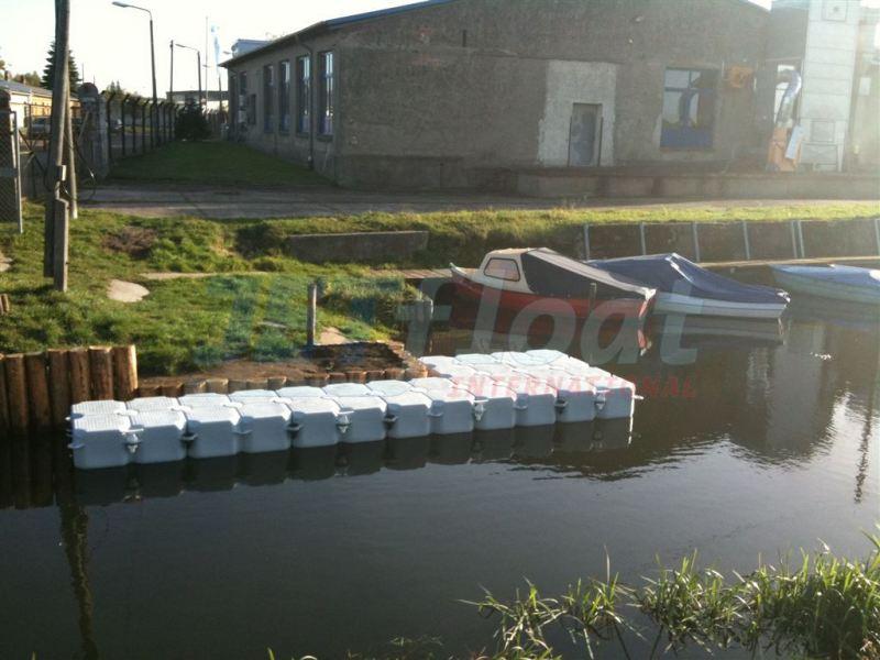 Ponton Schwimmstege - Bootsstege kaufen bei Duwe