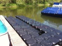 Duwe Kunststoff Bootsstegbau