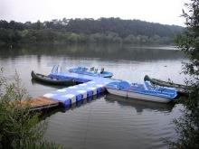 Bootsanleger aus JETfloat Pontons