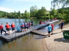 Schwimmsteg, Bootssteg bauen