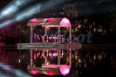 Seebühne für Konzerte