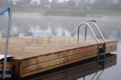 Badesteg aus Holz