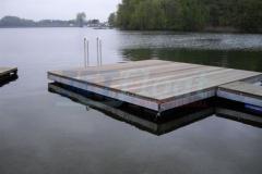 Badestege aus Holz