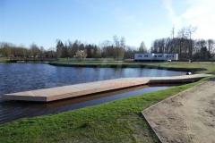 Bootssteg aus Holz