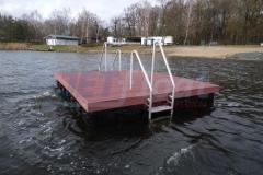 Ponton und Holz Bootsanleger kaufen