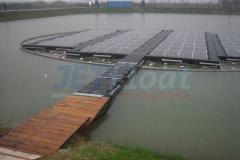Photovoltaik Ponton