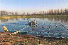 Schwimmende Photovoltaikanlage