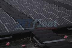 Photovoltaikanlage Ponton