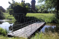 Schwimmbrücke Pontonbrücke Duwe & Partner