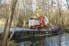Pontonbrücke mieten