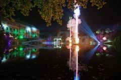 Feuerwerk Ponton