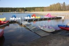 Ponton Schwimmsteg als gute Alternative zum Holzsteg
