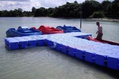 Ponton Schwimmkörper Kanusteg